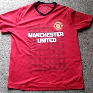 A manchester united athletic t-shirt